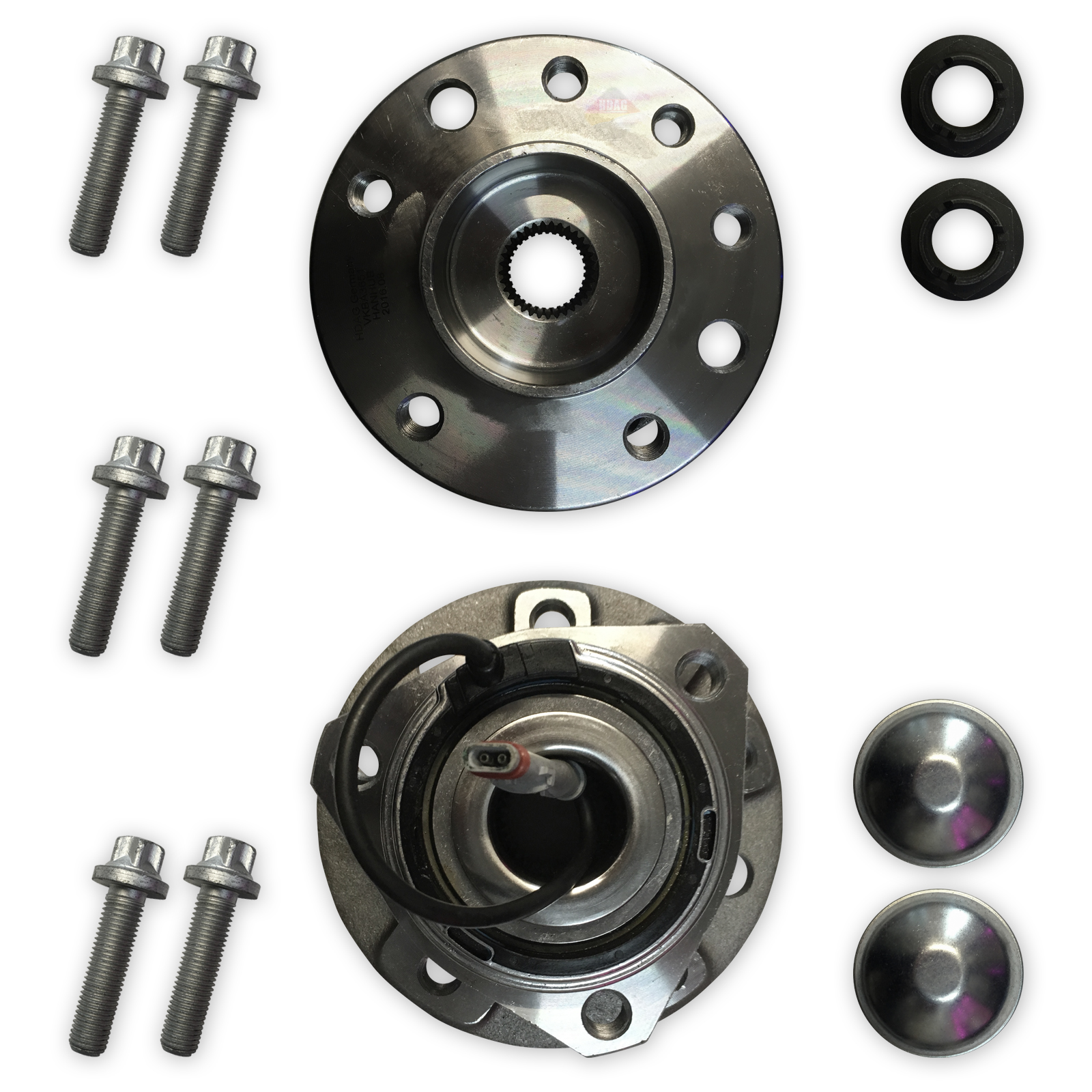 VAUXHALL ASTRA H MK5 O//S FRONT DRIVER SIDE RIGHT HUB WHEEL BEARING