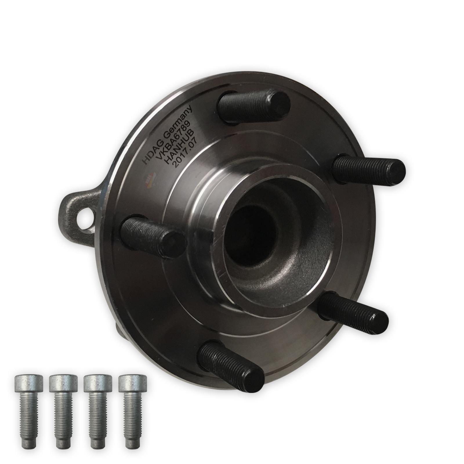 Ford Focus MK3 2011-2015 Rear Hub Wheel Bearing Kit Inc ABS Sensor