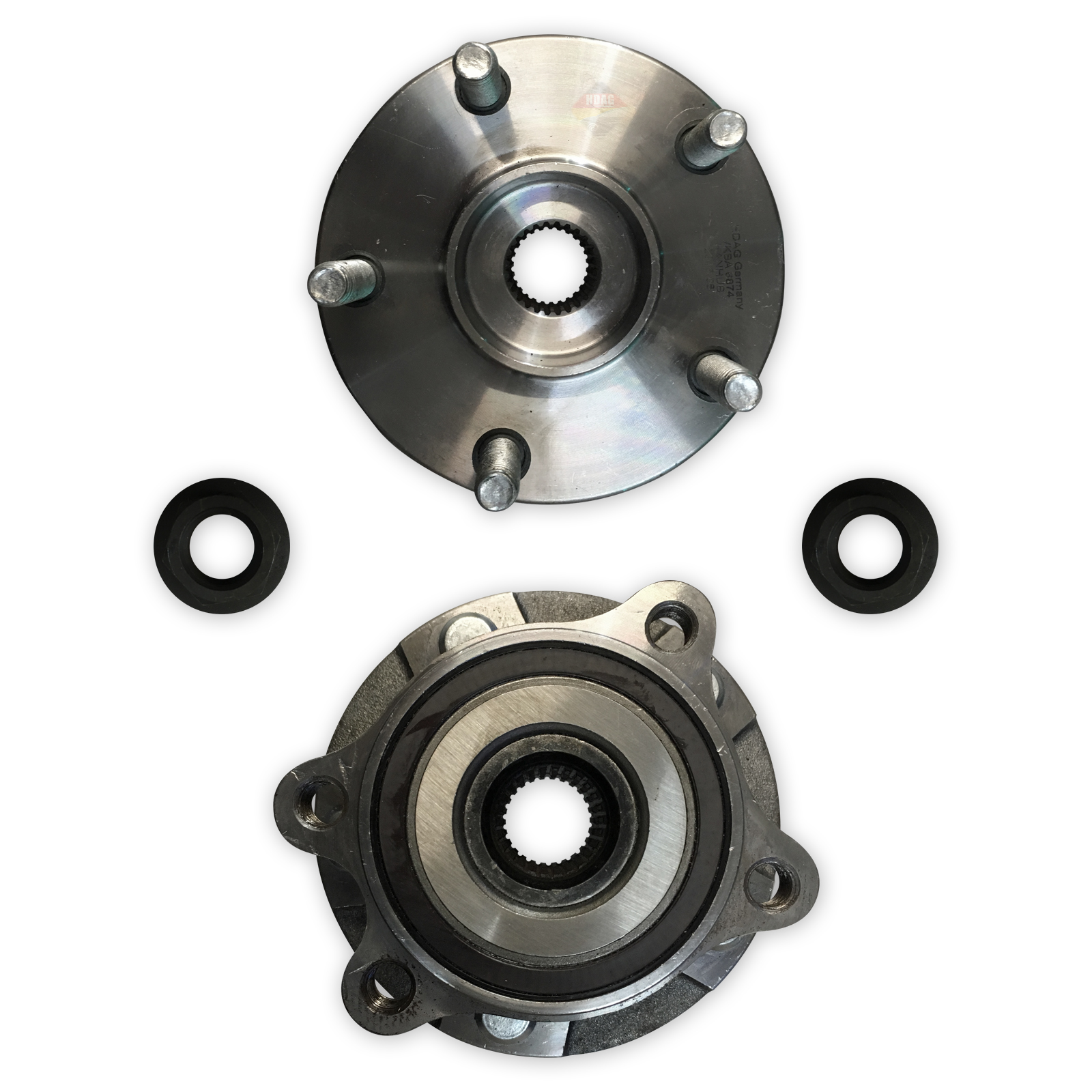 FOR TOYOTA AVENSIS 1.6 1.8 2.0 D4D 2009--/>ON NEW REAR WHEEL BEARING KIT COMPLETE
